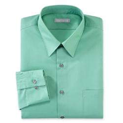 Poplin No-Iron Dress Shirt by Van Heusen in Anchorman 2: The Legend Continues