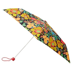 Compact Floral Print Umbrella by Totes in Pitch Perfect 2