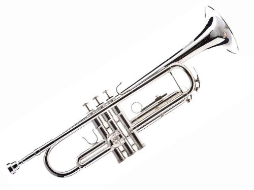 Bb Trumpet with Case and Mouthpiece by Hawk in Prisoners