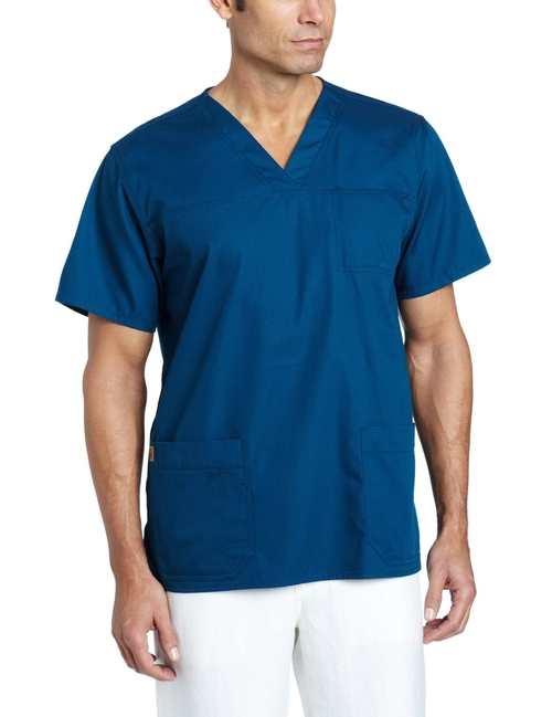 Men's Ripstop Multi-Pocket Scrub Top by Carhartt in Captive