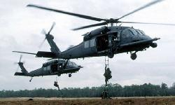 Uh-60 M Black Hawk by Sikorsky Helicopter in Godzilla