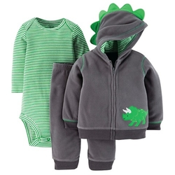 Newborn Boys' 3-Piece Dino Set - Green by Just One You Made By Carter's in The Mindy Project
