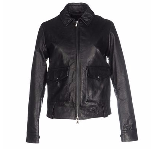 Leather Jacket by Mauro Grifoni in Keeping Up With The Kardashians - Season 12 Episode 3