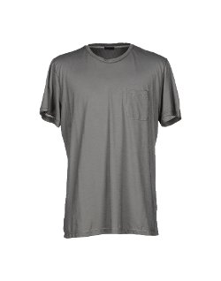 Single Pocket T-shirt by Paolo Pecora in Blackhat
