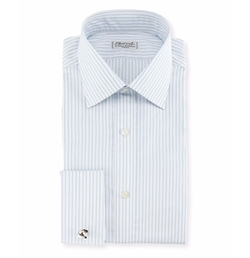 Shadow Striped Dress Shirt by Charvet in House of Cards