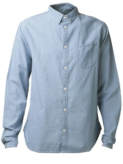 Button Down Chambray Shirt by Levi's: Made & Crafted in Dope