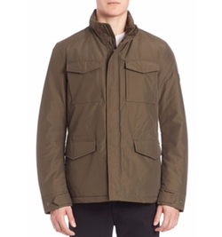 Travel Field Jacket by Woolrich John Rich & Bros. in The Blacklist