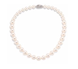 Faux-Pearl Single Strand Necklace by Adriana Orsini in Riverdale
