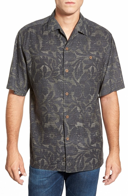 Short Sleeve Camp Shirt by Tommy Bahama in Nashville - Season 4 Episode 6