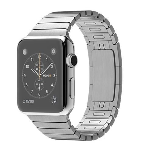 Stainless Steel Case with Link Bracelet Watch by Apple in Suits - Season 5 Episode 9