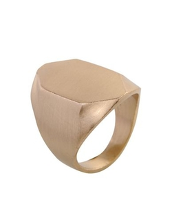 Gold Plated Ring by Master & Muse X Tiffany Kunz in Clueless