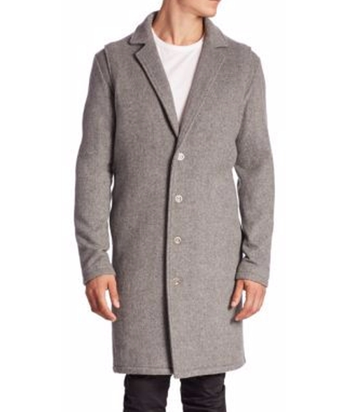 Melton Wool Coat by Zanerobe in Collateral Beauty