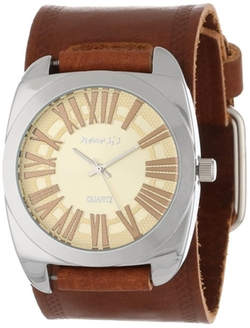Retro Roman Leather Band Watch by Nemesis in Pitch Perfect 2