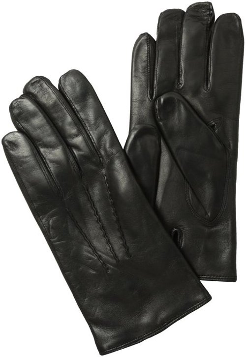 Classic Leather Gloves by Faconnable in The American