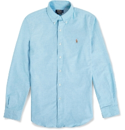 Button-Down Collar Oxford Shirt by Polo Ralph Lauren in The Longest Ride