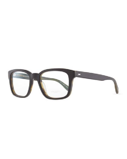 Wyler Men's Fashion Glasses, Black by Oliver Peoples in Transcendence