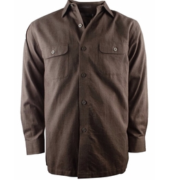 Signature Long Sleeve Woven Shirt by Daniel Cremieux in The Ranch