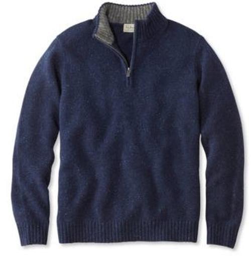 Shetland Wool Sweater by L.L. Bean in Jurassic World