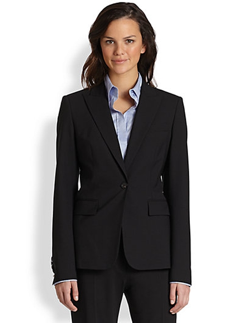 Stretch-wool Blazer by Boss Hugo Boss in Gone Girl