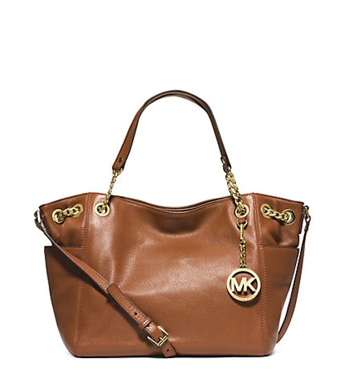 Jet Set Travel Leather Satchel Bag by Michael Kors in The Best of Me