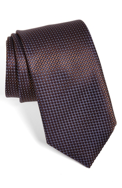 Check Silk Tie by Ermenegildo Zegna in Sex and the City