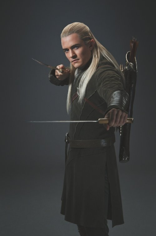 Custom Made Legolas Costume by Ann Maskrey & Bob Buck (Costume Designer) in The Hobbit: The Battle of The Five Armies