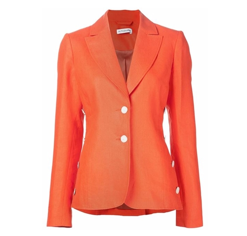 Two Button Blazer by Altuzarra in Scandal - Season 5 Episode 19