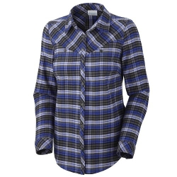 Pettygrove Plaid Flannel Longsleeve Shirt by Columbia in Dope