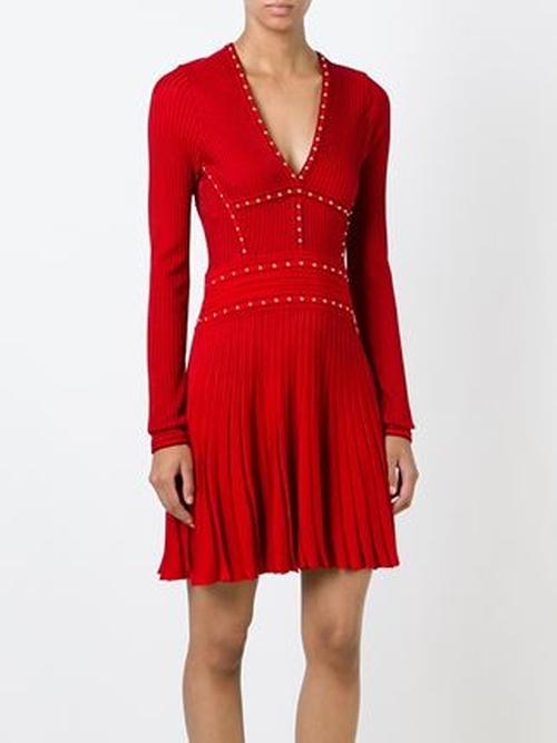 Studded Knit Dress by Roberto Cavalli in Nashville - Season 4 Episode 7