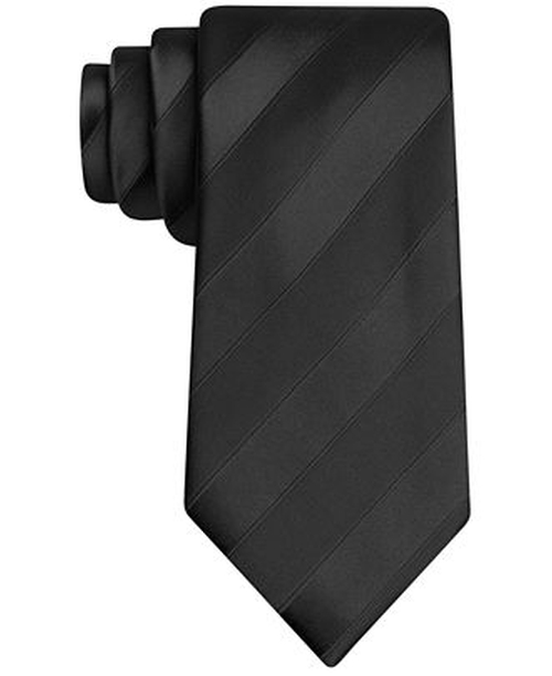 Wilson Solid Stripe Tie by Sean John in Now You See Me 2