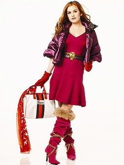 Pink Short Dress by Zac Posen in Confessions of a Shopaholic