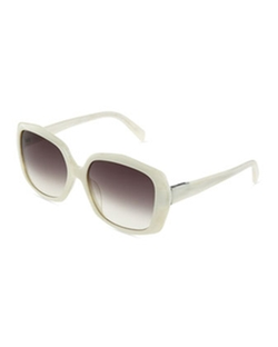 Square Acetate Sunglasses by Jil Sander in Sex and the City
