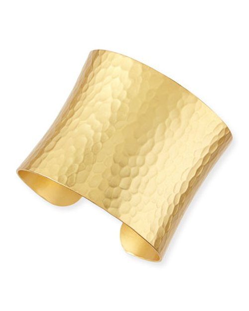Gold-Dipped Grecian Hammered Cuff by Stephanie Kantis	 in Sex and the City 2