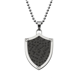 Diamond Shield Pendant Necklace by Kohl's in Nashville
