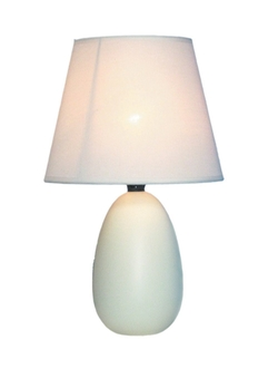 Mini Oval Egg Ceramic Table Lamp by Simple Designs Home in Fight Club