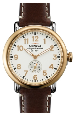 The Runwell Leather Watch by Shinola in The Flash