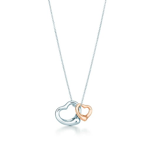 Open Heart Pendant Necklace by Tifffany & Co. Elsa Peretti in San Andreas