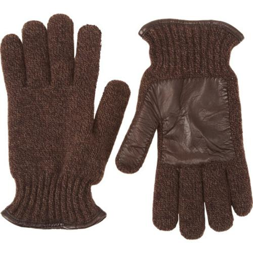 Knit Leather Palm Gloves by BARNEYS NEW YORK in Dawn of the Planet of the Apes