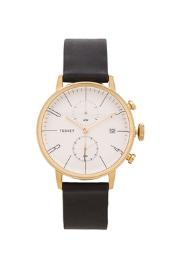 Leather Strap Watch by Tsovet in The Night Of