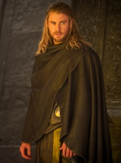 Custom Made Cape (Thor) by Wendy Partridge (Costume Designer) in Thor: The Dark World