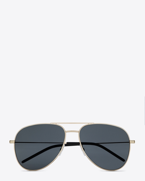 Classic 11 Aviator Sunglasses by Saint Laurent in Keeping Up With The Kardashians - Season 11 Episode 7