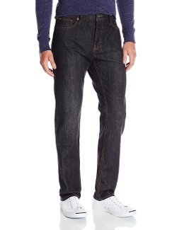 Men's New Normal Denim Jean Black by RVCA in That Awkward Moment