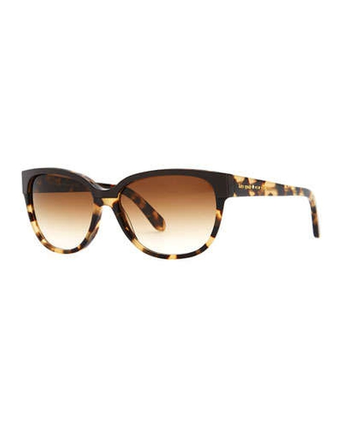 Brigit Tortoise-shell Wayfarer Sunglasses by Kate Spade New York	 in The Other Woman