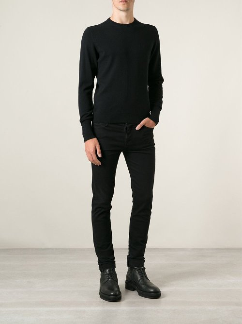 Crew Neck Sweater by Drumohr in The Gunman