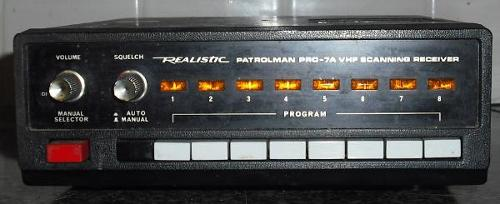 Realistic Patrolman Pro - 7A VHF Scanning Receiver by RadioShack in Nightcrawler
