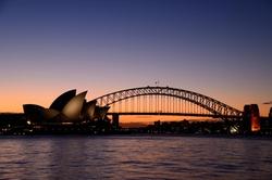 Sydney, Australia by Sydney Harbour Bridge in Mechanic: Resurrection