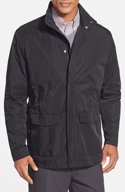Birch Bay WeatherTec Water Resistant Field Jacket by Cutter & Buck in The Mindy Project - Season 4 Episode 8