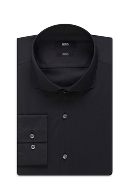 Slim Fit Spread Collar Dress Shirt by Boss in GoldenEye