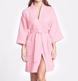 Waffle Cotton Robe by Nordstrom in Scream Queens