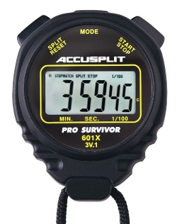 Pro Survivor Stopwatch by Accusplit in Barely Lethal